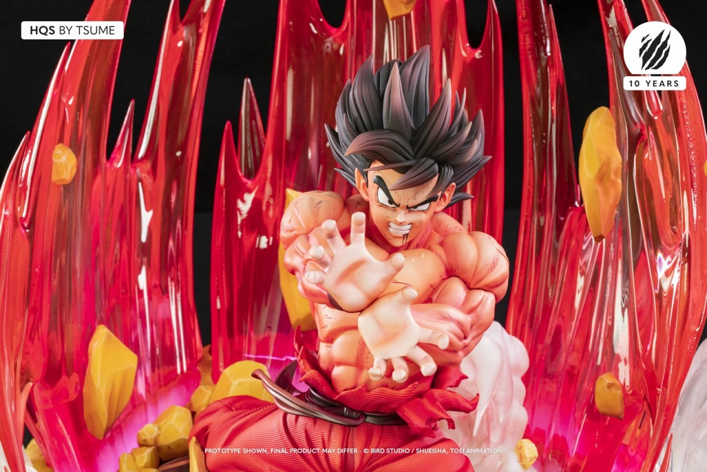 Statue Dragon Ball Z Goku Kaio-ken HQS by Tsume 1001 Figurines 2