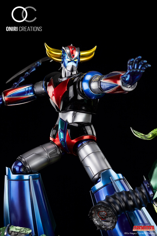 Statue Goldorak UFO Robot Grendizer Premium Oniri Creations 1001 Figurines  (14)