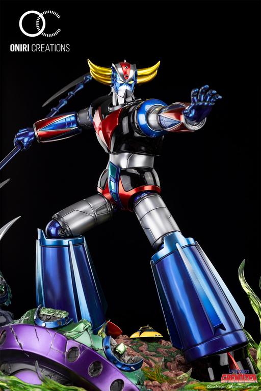 Statue Goldorak UFO Robot Grendizer Premium Oniri Creations 1001 Figurines  (16)
