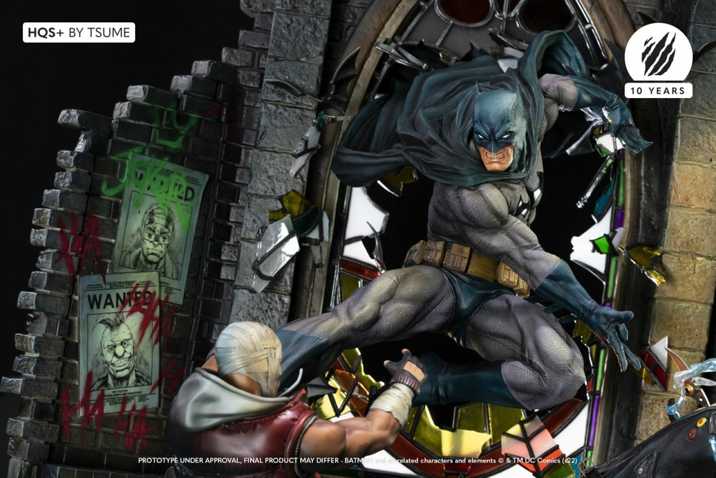 Statue Batman HQS+ by Tsume 60cm 1001 Figurines 3