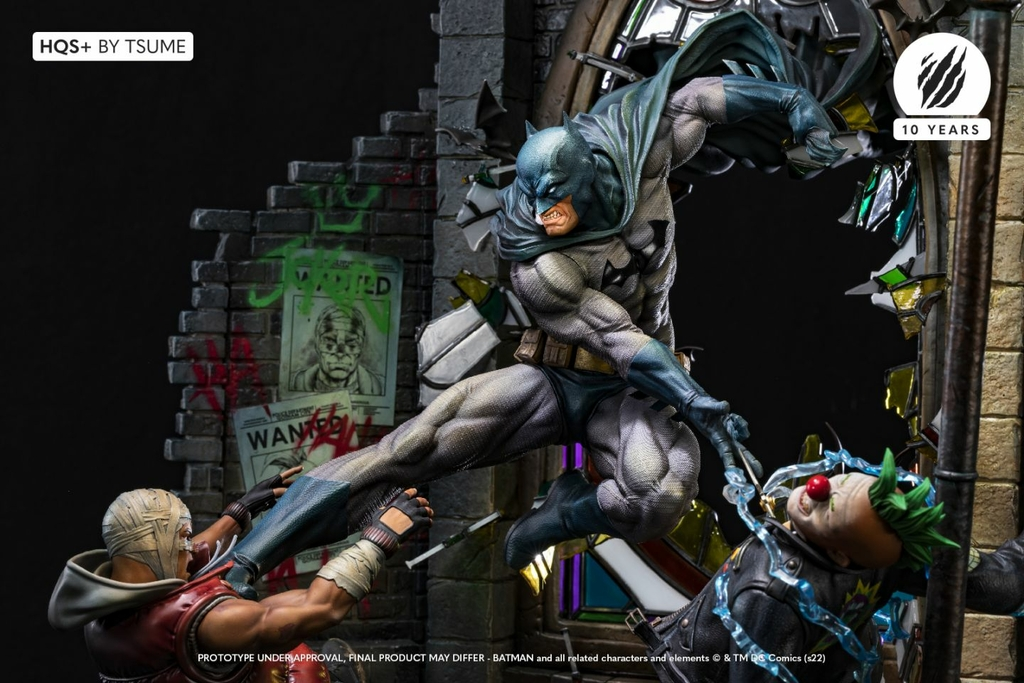 Statue Batman HQS+ by Tsume 60cm 1001 Figurines 14