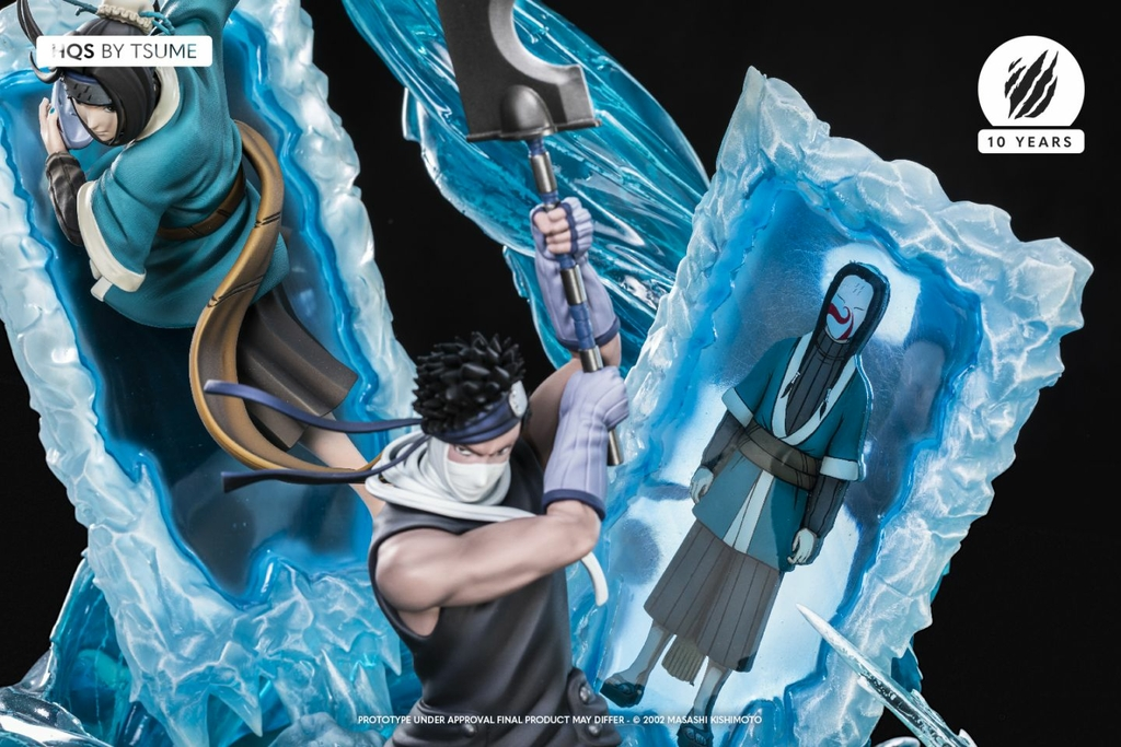 Statue Naruto Zabuza & Haku Tsume HQS 47cm 1001 Figurines 10