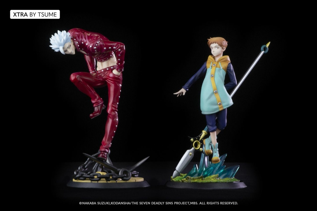 Statuette The Seven Deadly Sins King Xtra by Tsume 19cm 1001 Figurines 6