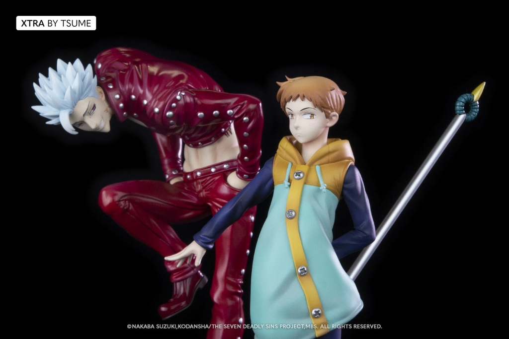Statuette The Seven Deadly Sins King Xtra by Tsume 19cm 1001 Figurines 7
