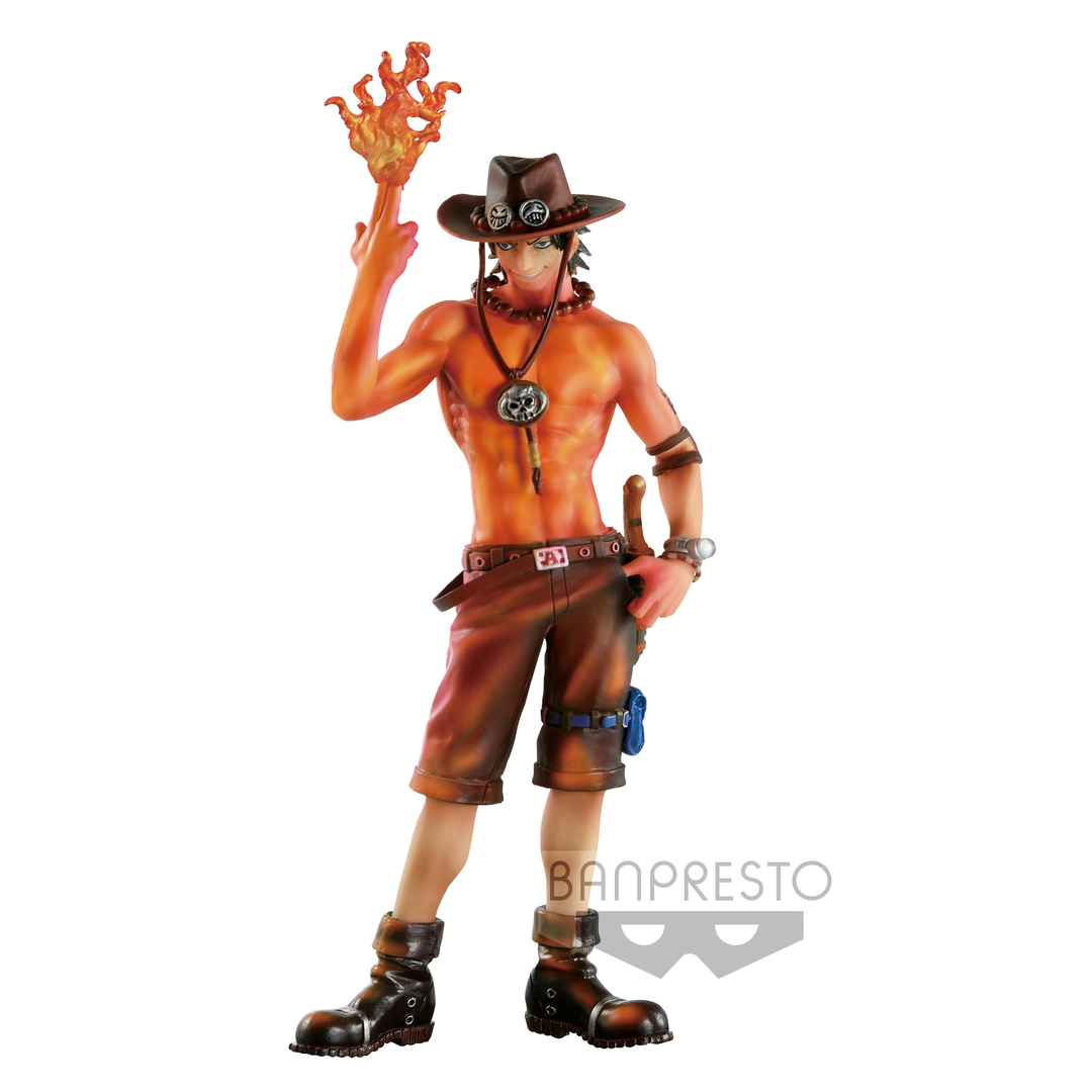Figurine One Piece SCultures Portgas D. Ace Burning Color Ver. 19cm 1001 Figurines