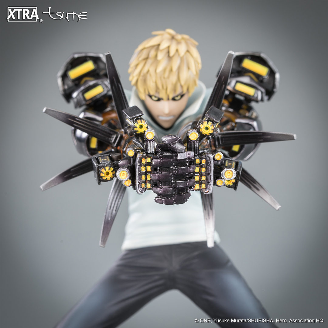 Figurine One Punch Man XTRA Tsume Genos 15cm 1001 Figurines 3