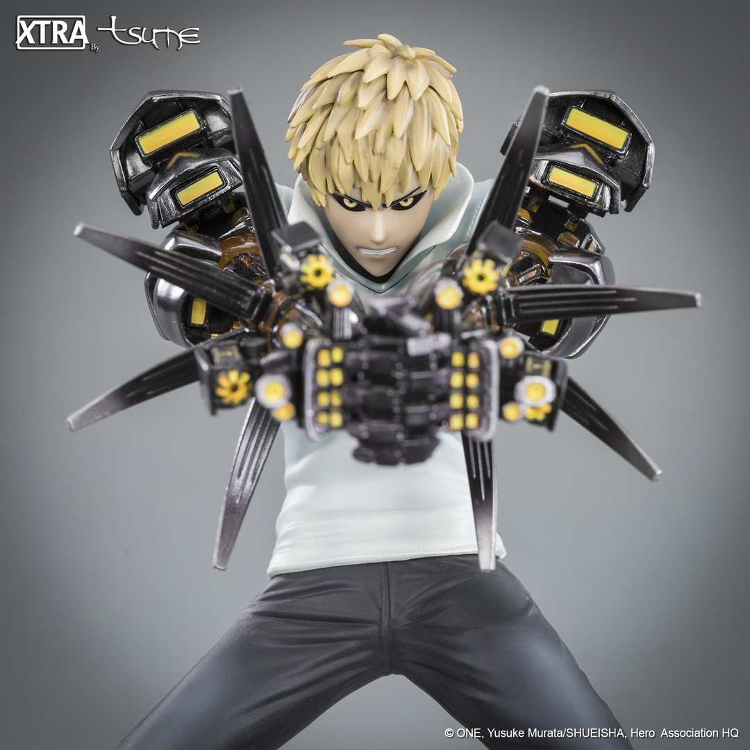 Figurine One Punch Man XTRA Tsume Genos 15cm 1001 Figurines 4