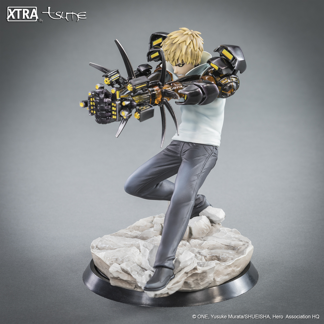 Figurine One Punch Man XTRA Tsume Genos 15cm 1001 Figurines 7