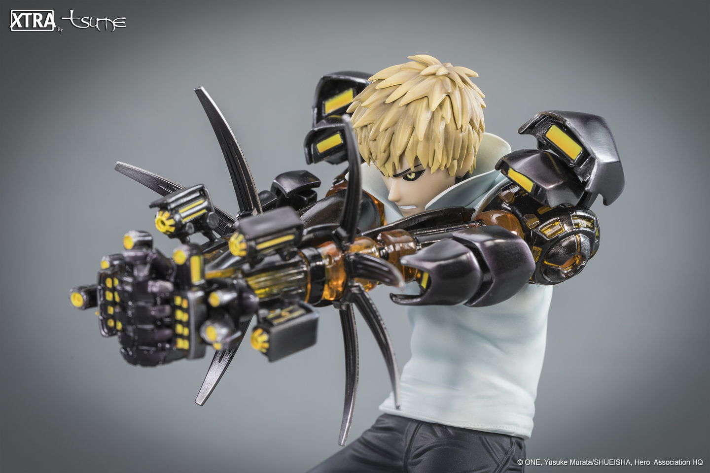 Figurine One Punch Man XTRA Tsume Genos 15cm 1001 Figurines 8