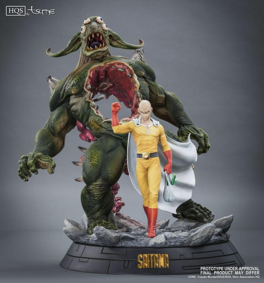 Statue One Punch Man Saitama HQS Tsume 60cm 1001 Figurines 1