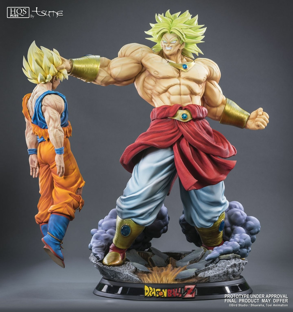 Statue Broly Le super Saiyan Légendaire HQS+ by TSUME 76cm 1001 Figurines 1