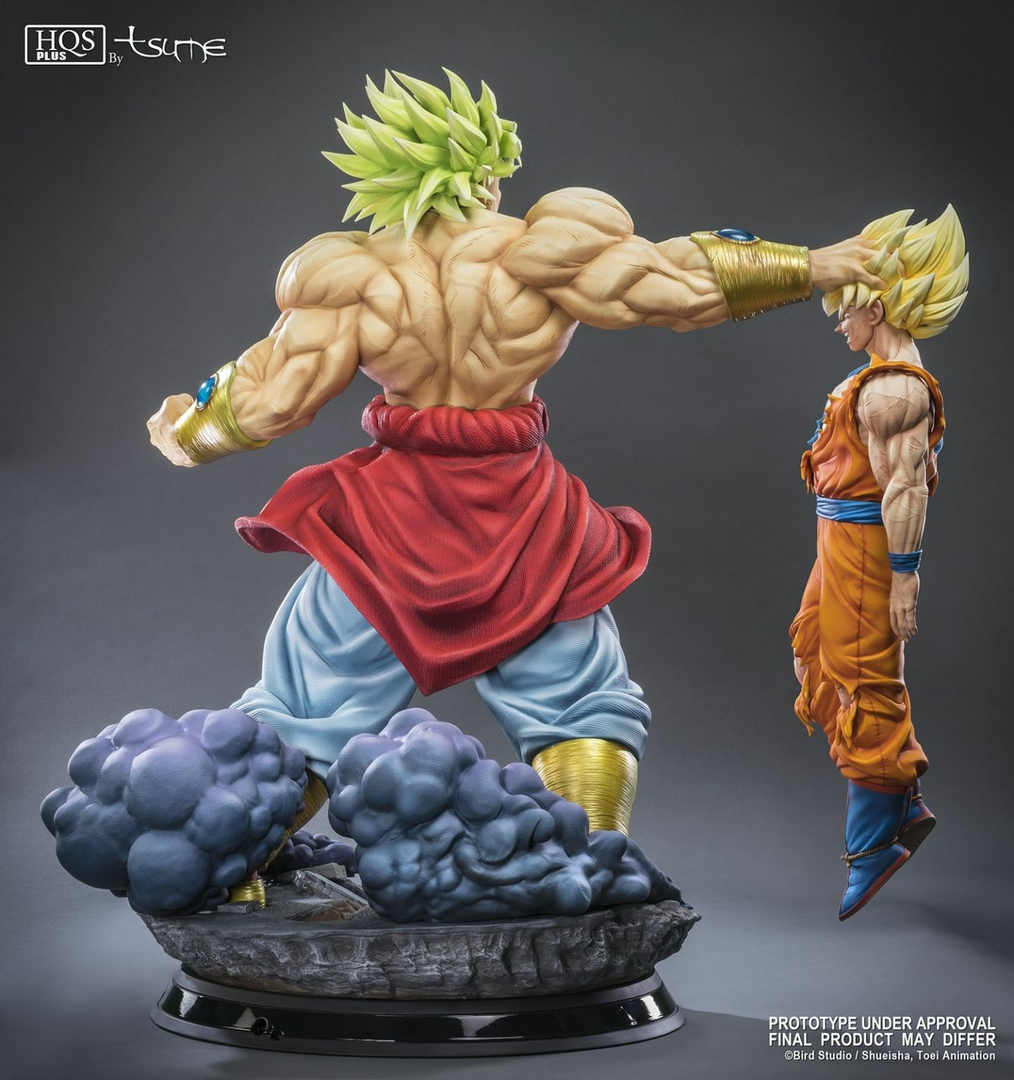 Statue Broly Le super Saiyan Légendaire HQS+ by TSUME 76cm 1001 Figurines 4