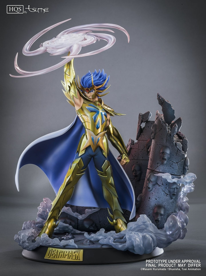 Statue Saint Seiya Deathmask du Cancer HQS by Tsume 45cm 1001 Figurines 1