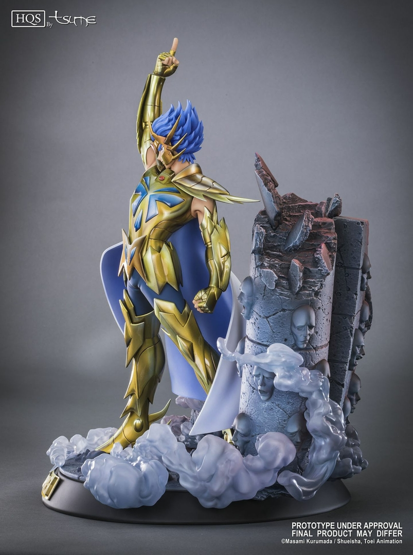 Statue Saint Seiya Deathmask du Cancer HQS by Tsume 45cm 1001 Figurines 2