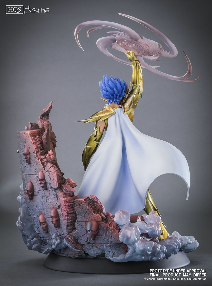 Statue Saint Seiya Deathmask du Cancer HQS by Tsume 45cm 1001 Figurines 3