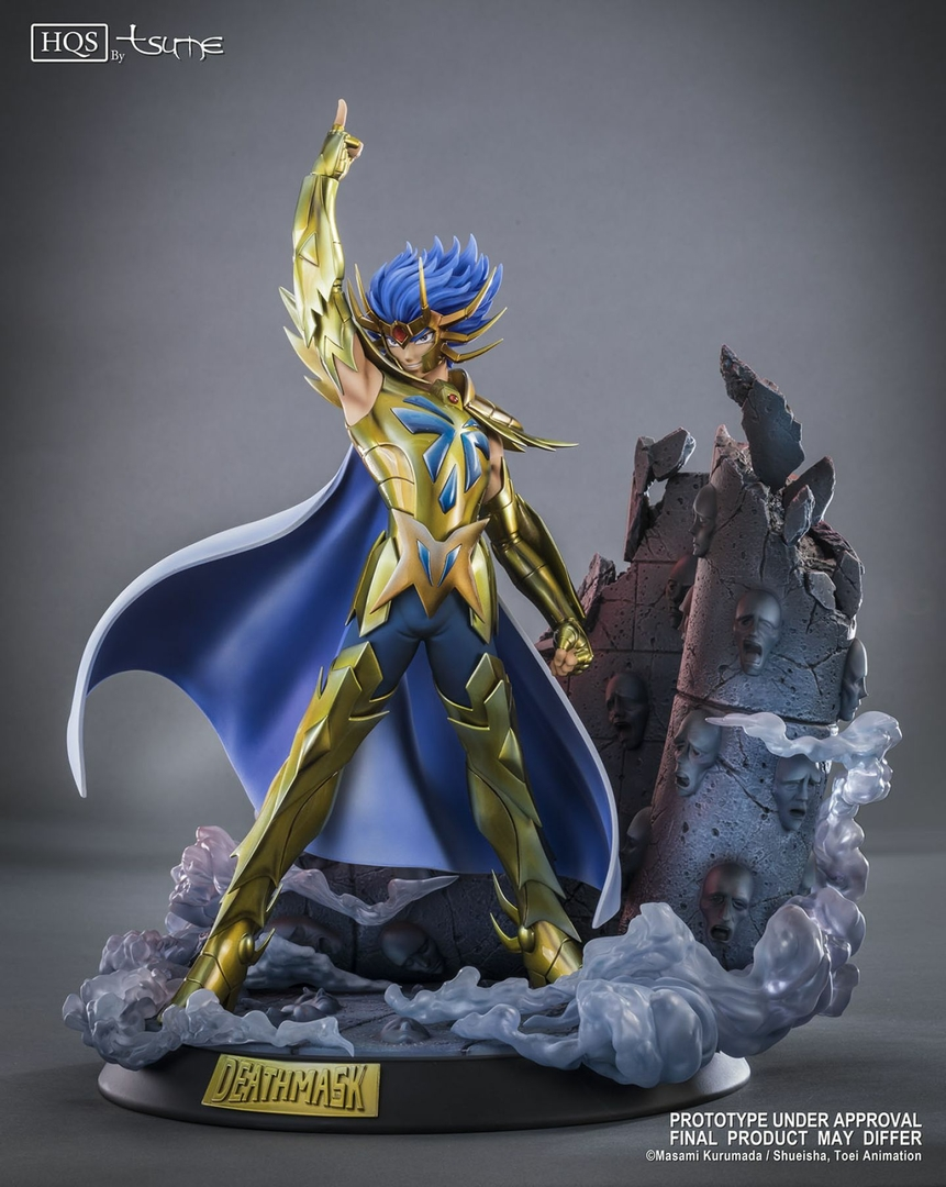 Statue Saint Seiya Deathmask du Cancer HQS by Tsume 45cm 1001 Figurines 4