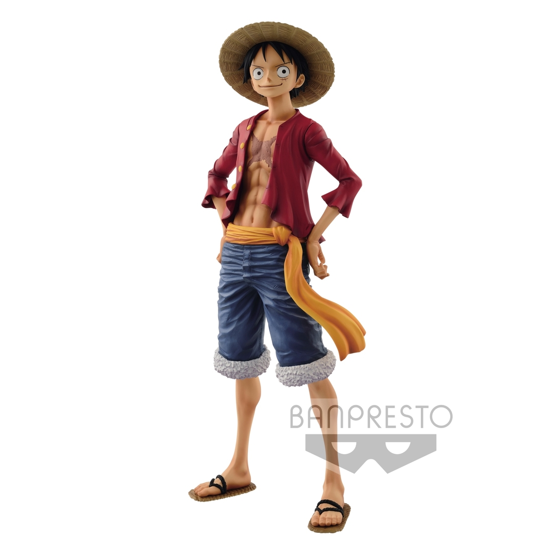 Figurine One Piece Grandista The Grandline Men Monkey D. Luffy 27cm 1001 Figurines