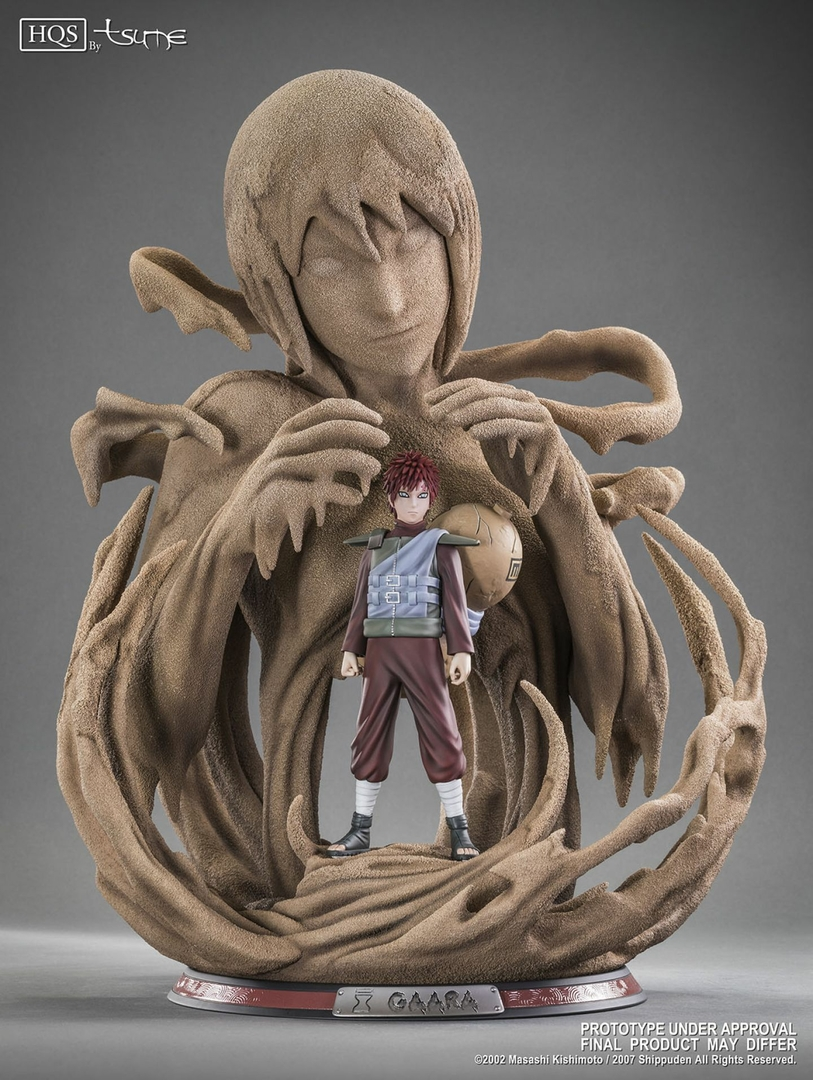 Statue Naruto Shippuden Gaara A fathers hope, a mothers love HQS by TSUME  1001 Figurines 4