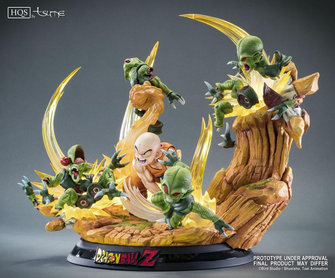 Statue DBZ Krillin Chap 0 Des guerriers terrifiés HQS by TSUME 1001 Figurines 6
