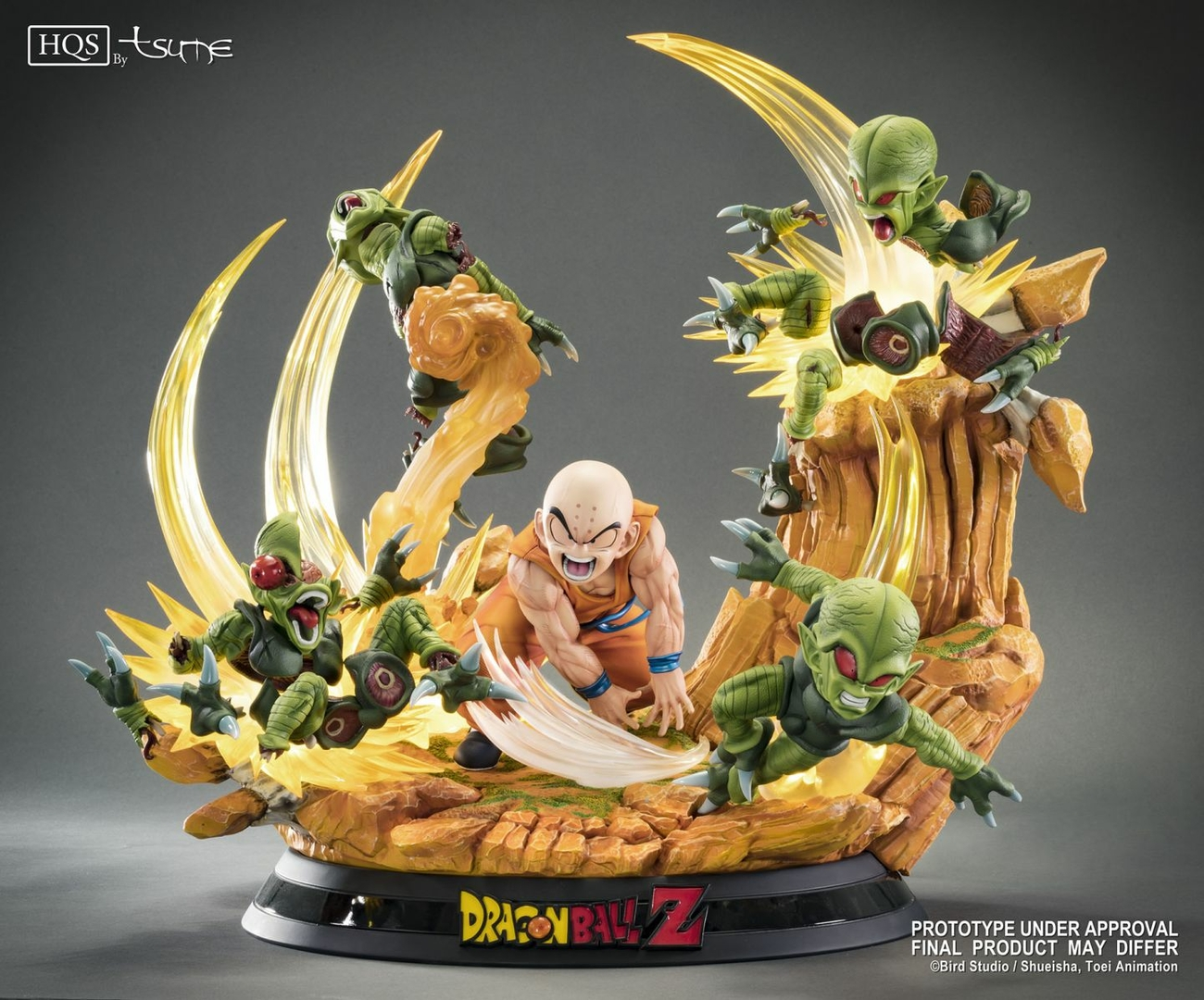 Statue DBZ Krillin Chap 0 Des guerriers terrifiés HQS by TSUME 1001 Figurines 13