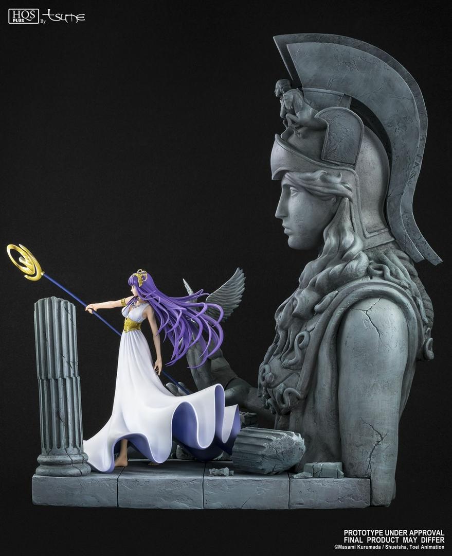 Statue Saint Seiya Athena HQS+ by TSUME 1001 Figurines 6