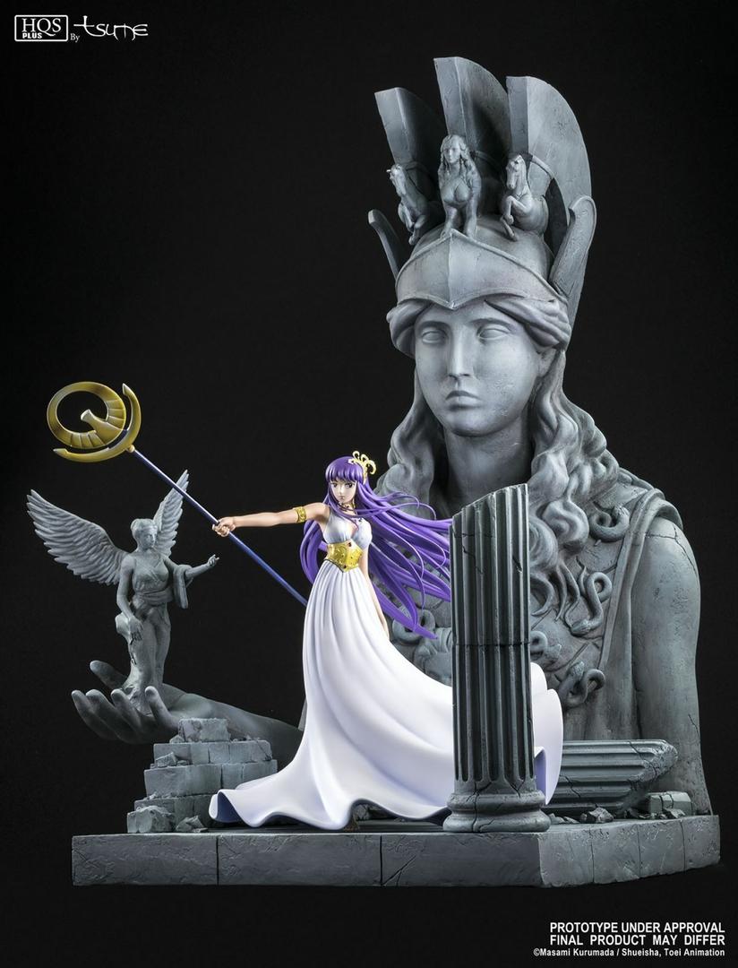 Statue Saint Seiya Athena HQS+ by TSUME 1001 Figurines 12