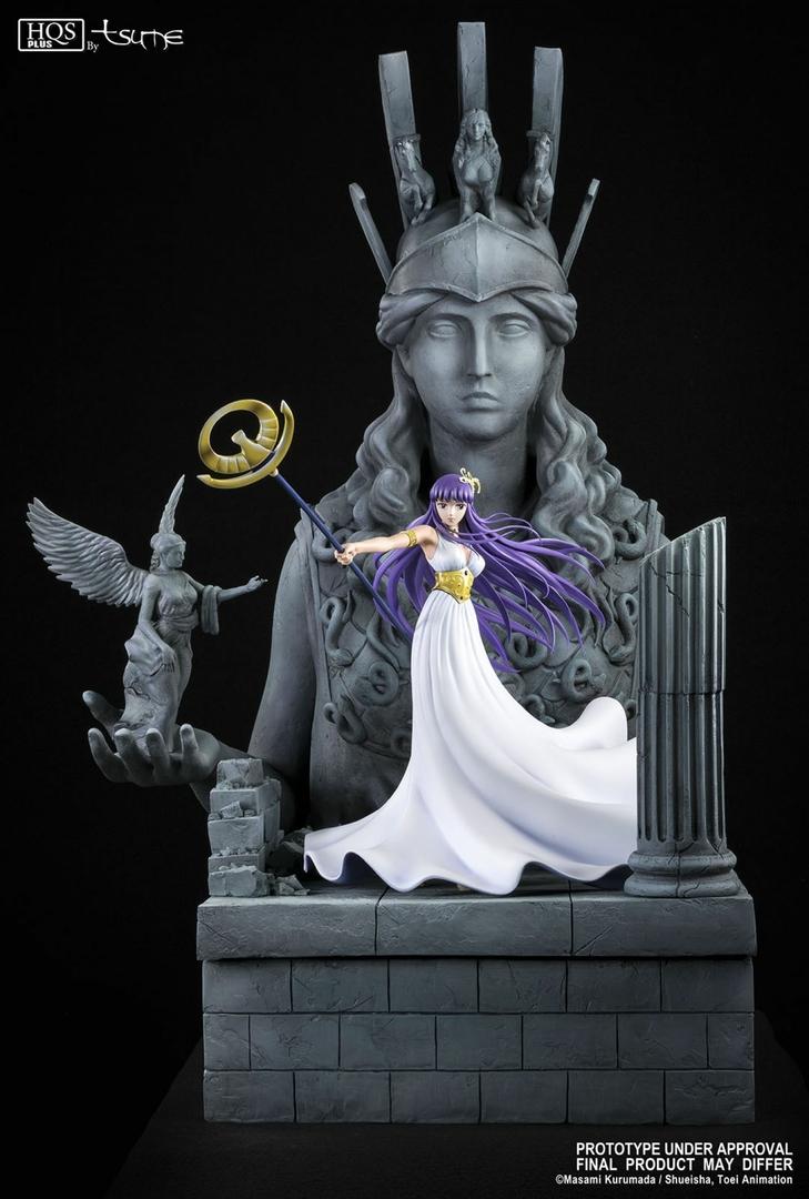 Statue Saint Seiya Athena HQS+ by TSUME 1001 Figurines 11