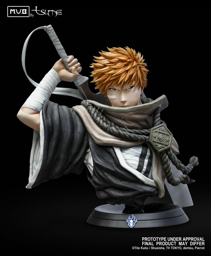 Buste Bleach Ichigo Kurosaki My Ultimate Bust Tsume 80cm 1001 Figurines