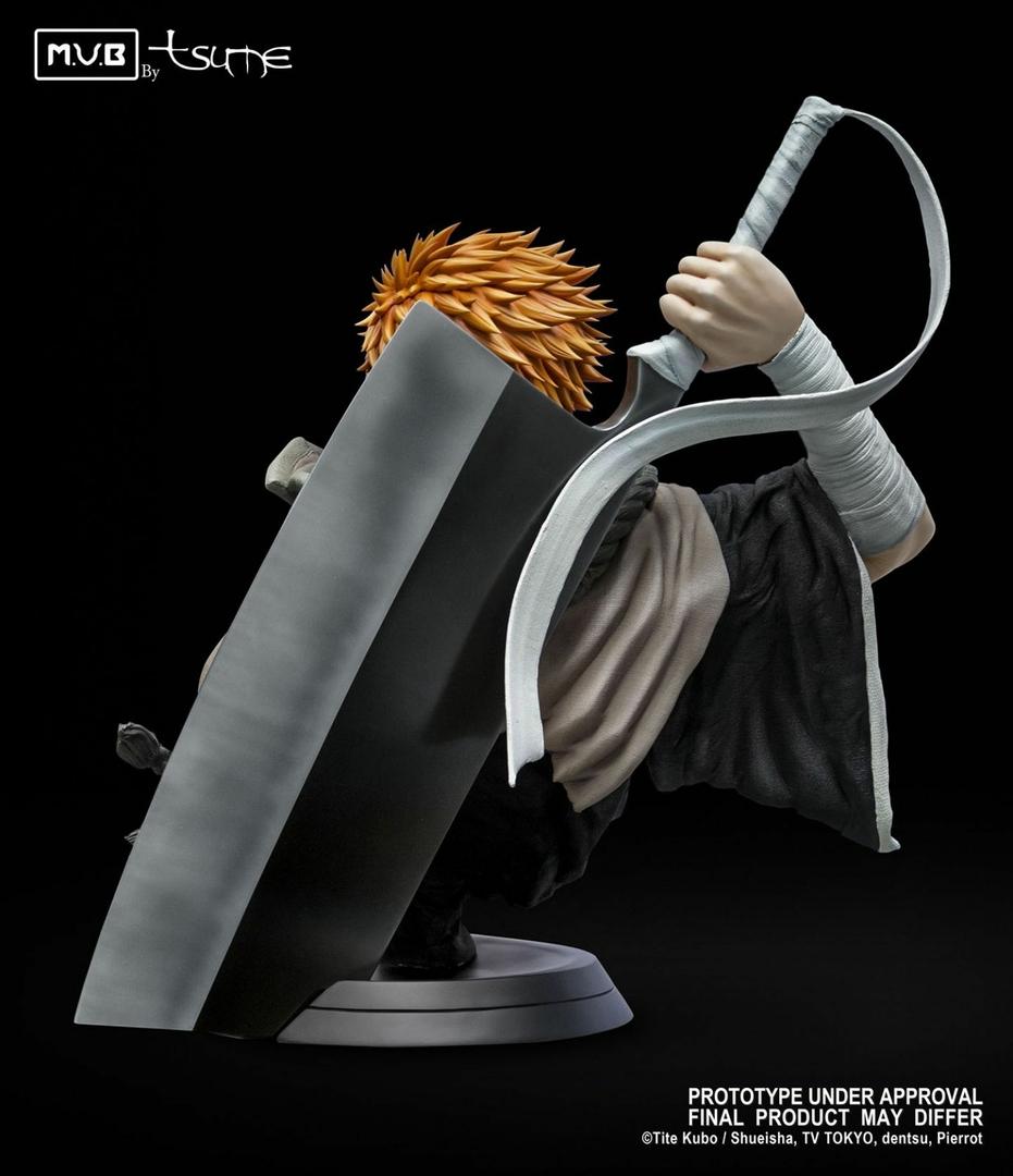 Buste Bleach Ichigo Kurosaki My Ultimate Bust Tsume 80cm 1001 Figurines 3