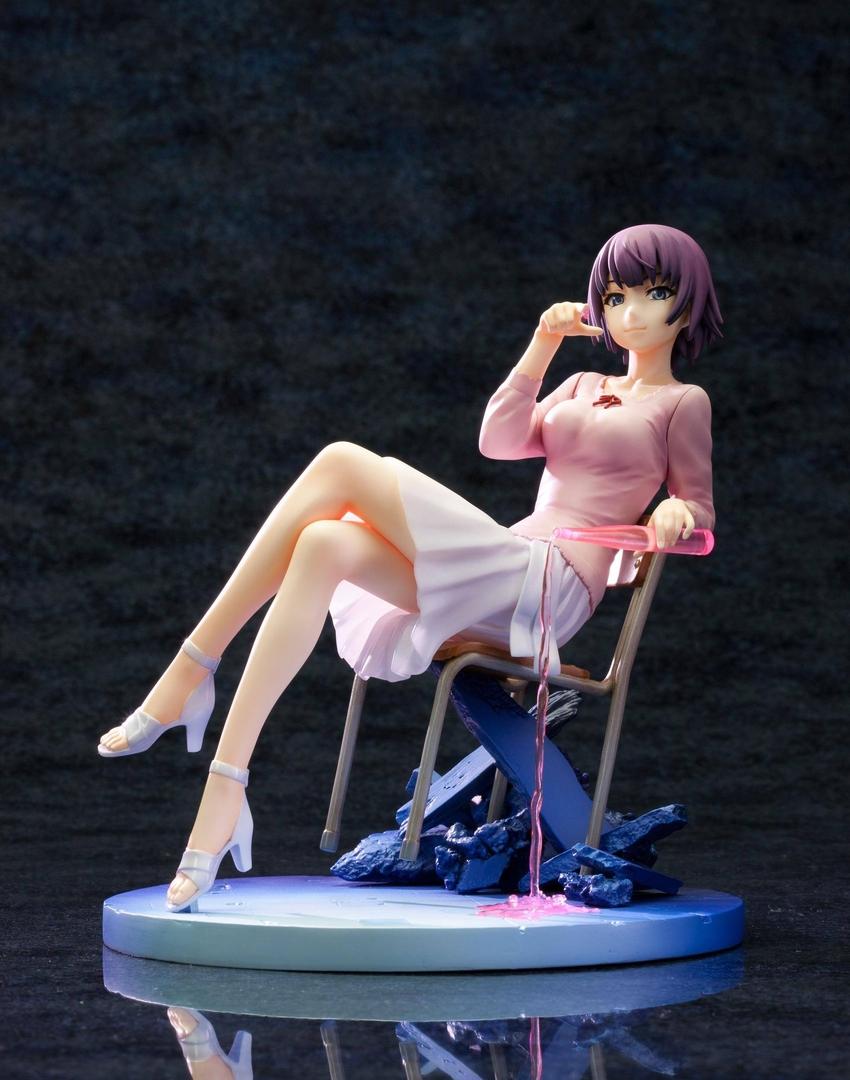 Statuette Nisemonogatari Ani Hitagi Senjogahara 15cm 1001 Figurines (2)