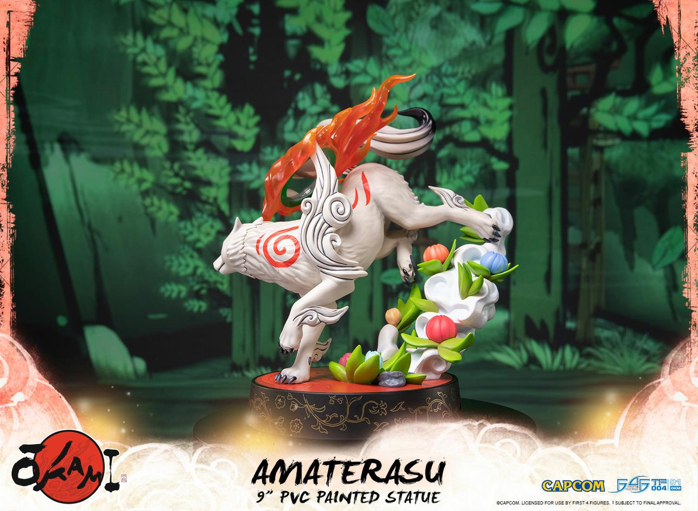 Statuette Okami Amaterasu 22cm 1001 Figurines 5