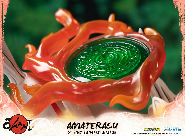 Statuette Okami Amaterasu 22cm 1001 Figurines 7