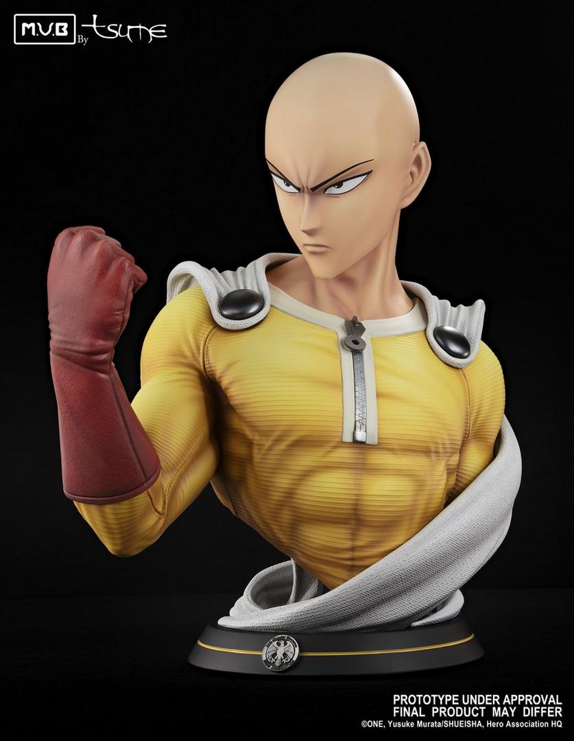 Buste One Punch Man Saitama MUB Tsume 70cm 1001 figurines 2