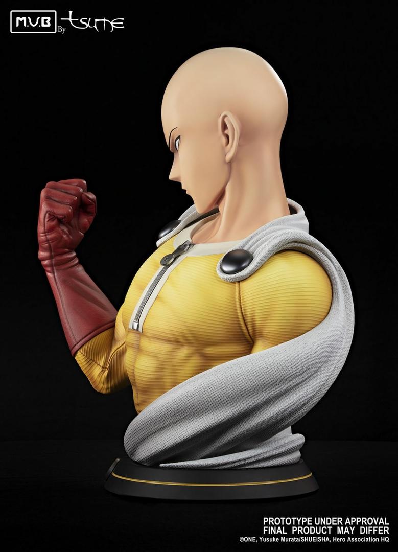 Buste One Punch Man Saitama MUB Tsume 70cm 1001 figurines 4