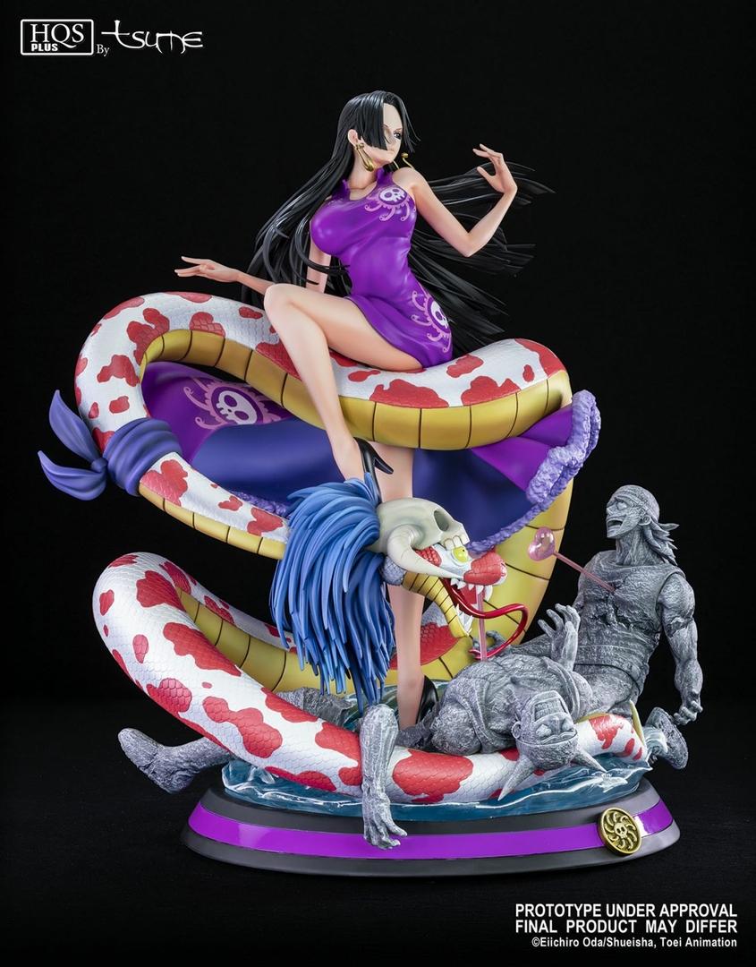 Statue One Piece Boa Hancock Tsume HQS+ 51cm 1001 Figurines 8