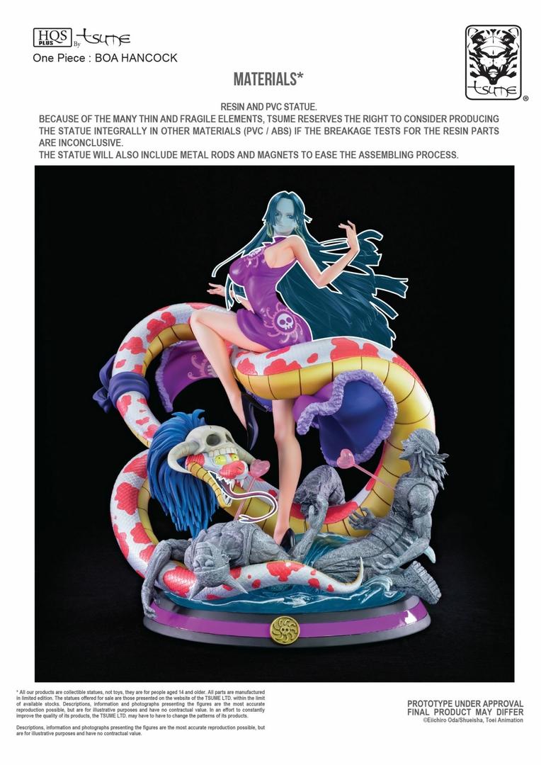 Statue One Piece Boa Hancock Tsume HQS+ 51cm 1001 Figurines 14