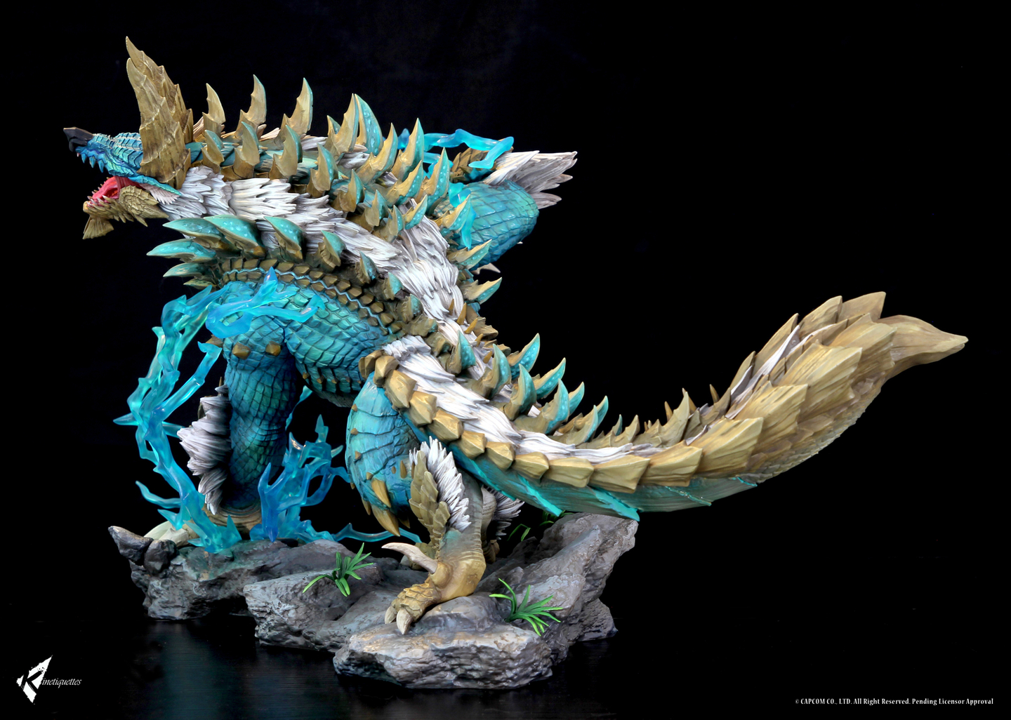 Diorama Monster Hunter The Thunder Wolf Wyvern 56cm 1001 Figurines (2)