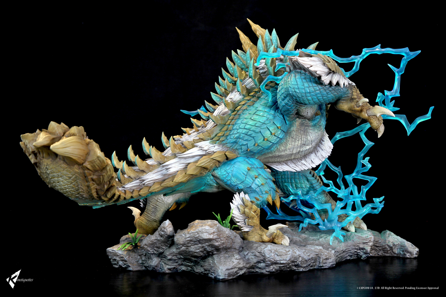 Diorama Monster Hunter The Thunder Wolf Wyvern 56cm 1001 Figurines (4)