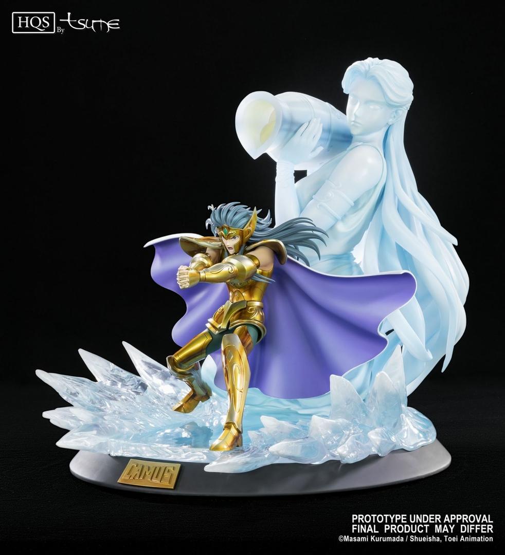 Statue Saint Seiya Camus du Verseau HQS by Tsume 46cm 1001 Figurines 3