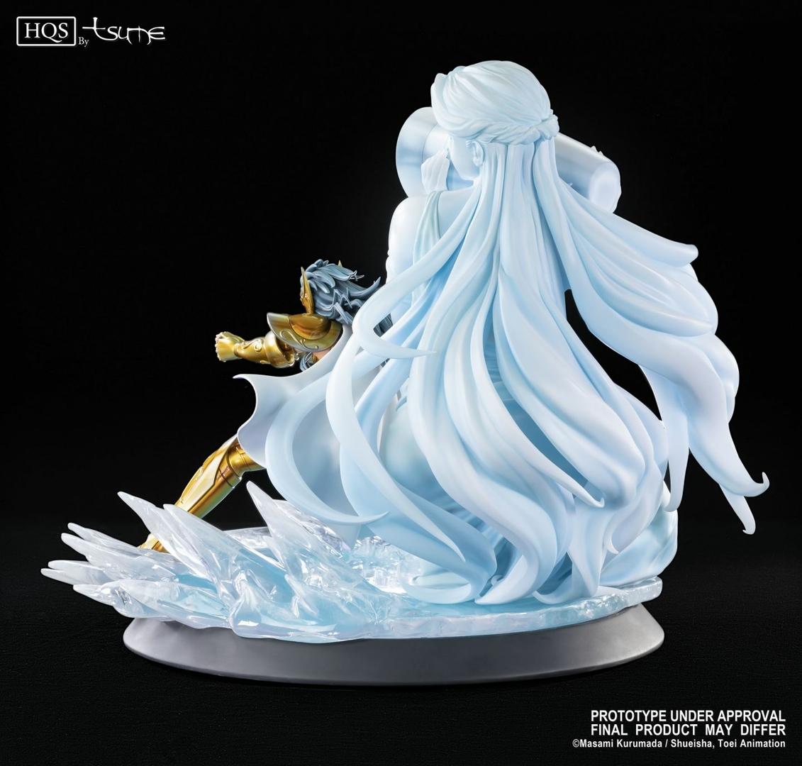 Statue Saint Seiya Camus du Verseau HQS by Tsume 46cm 1001 Figurines 6