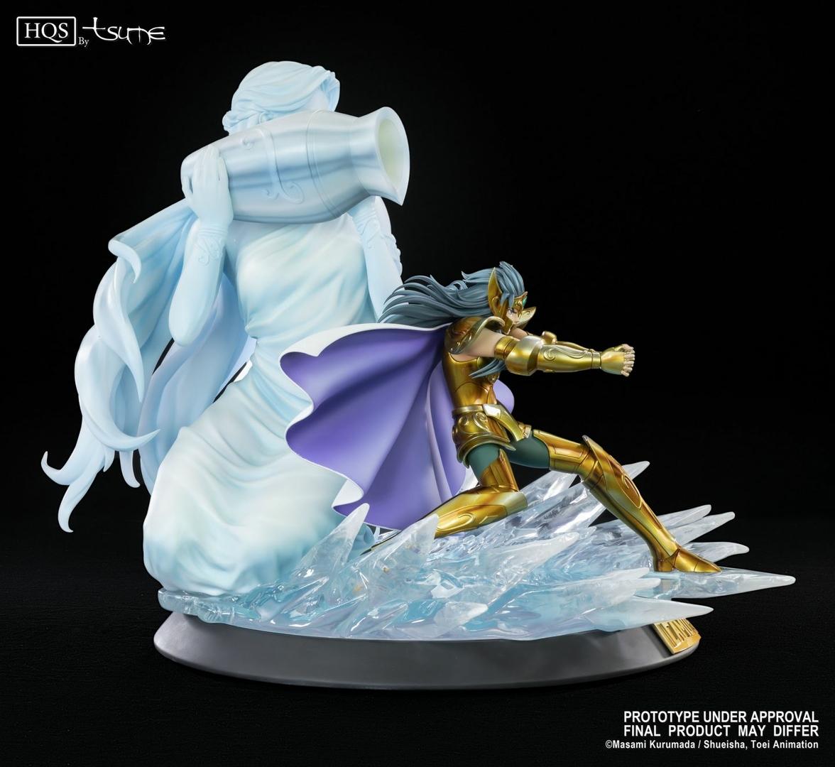 Statue Saint Seiya Camus du Verseau HQS by Tsume 46cm 1001 Figurines 9