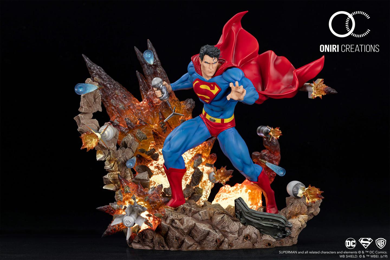 Statue Superman For Tomorrow Oniri Creations 1001 Figurines 2