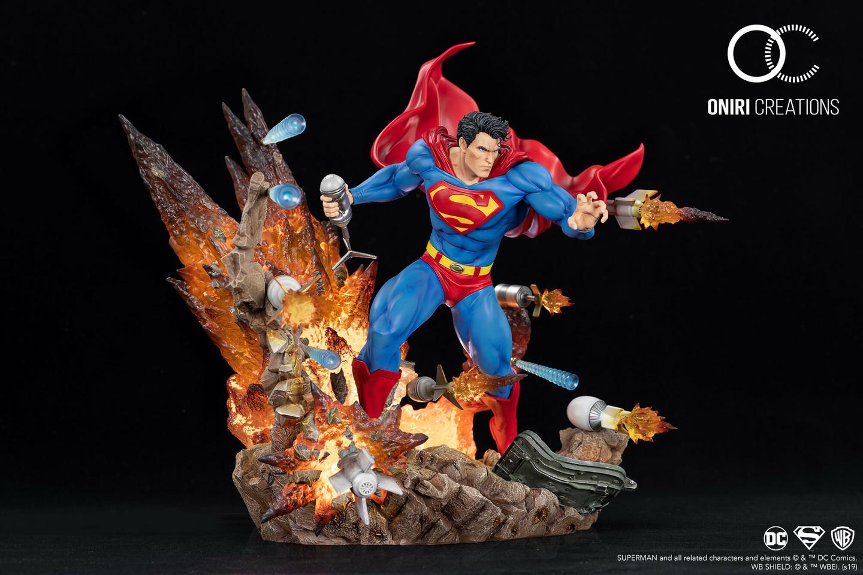 Statue Superman For Tomorrow Oniri Creations 1001 Figurines 5
