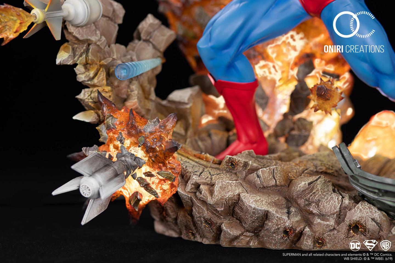 Statue Superman For Tomorrow Oniri Creations 1001 Figurines 7
