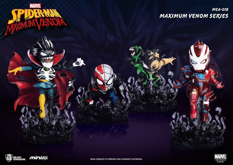 Figurines Marvel Maximum Venom Collection Mini Egg Attack Bundle Set 8 - 14cm 1001 Figurines
