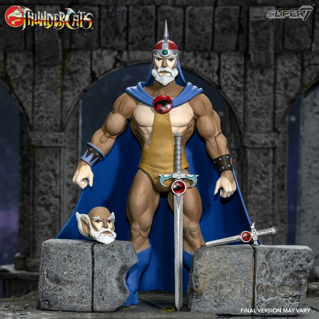 Figurine Thundercats Wave 3 Ultimates Jaga the Wise Thundercat Mentor 18cm 1001 figurines