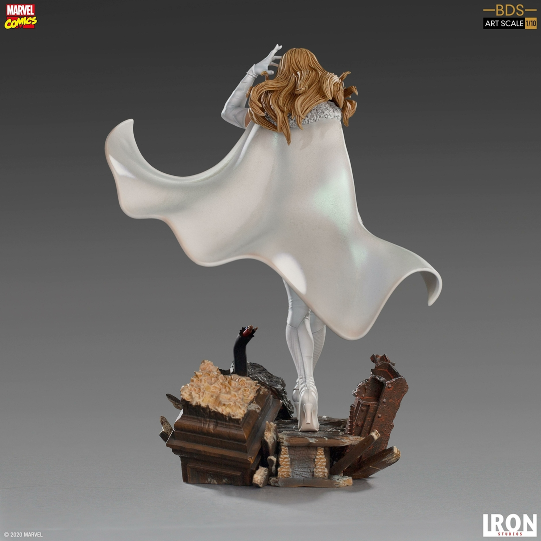 Statuette Marvel Comics BDS Art Scale Emma Frost 21cm 1001 Figurines (3)