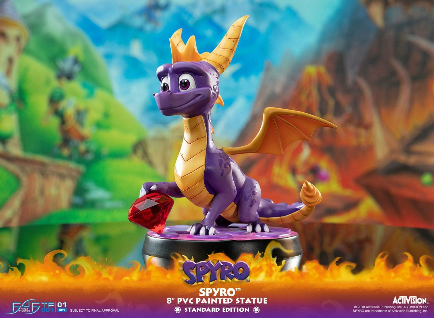 Statuette Spyro the Dragon Spyro 20cm 1001 Figurines (2)