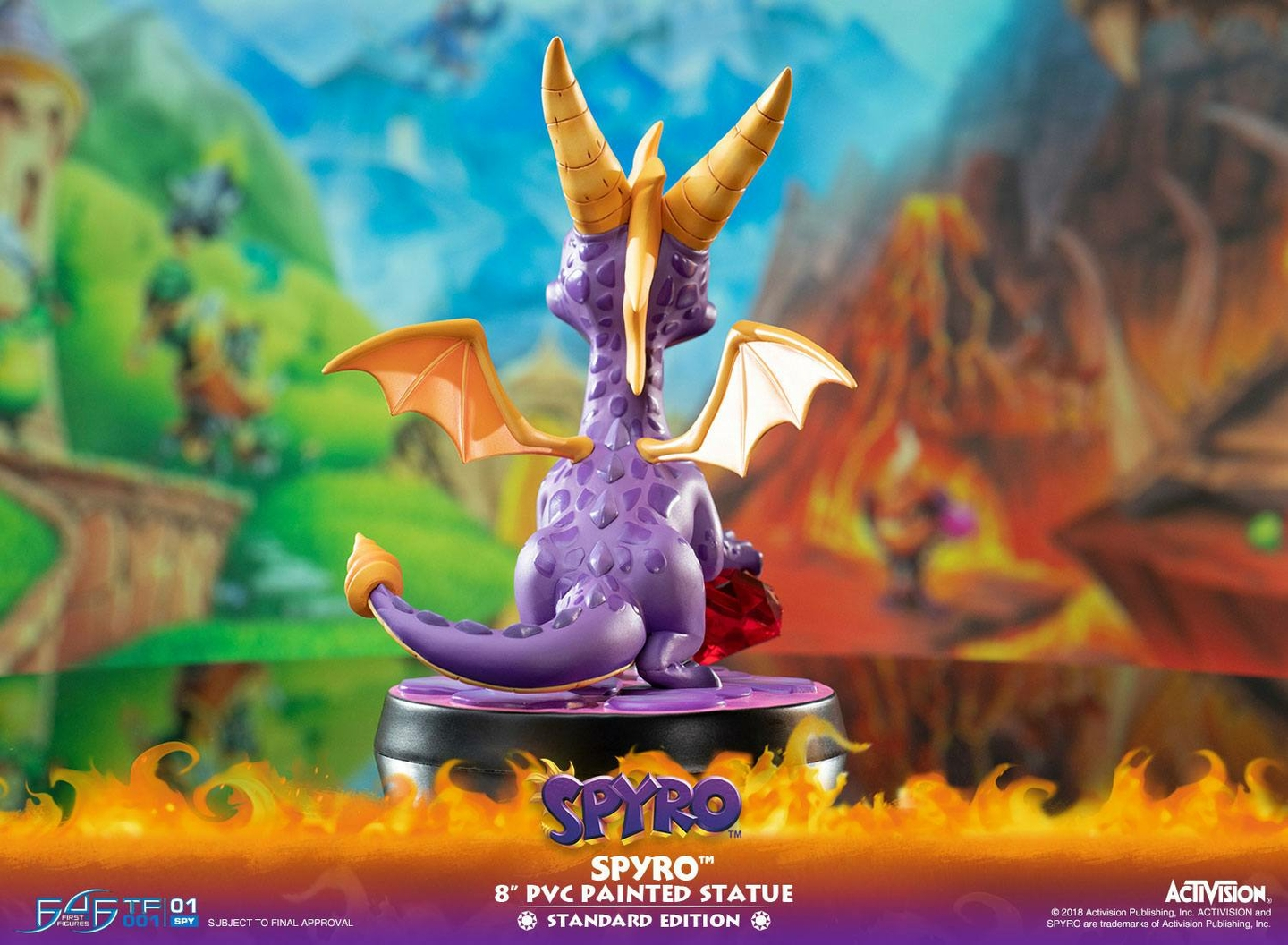 Statuette Spyro the Dragon Spyro 20cm 1001 Figurines (5)