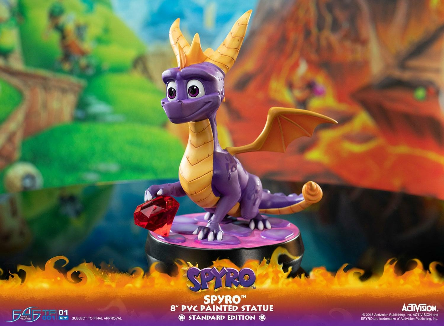 Statuette Spyro the Dragon Spyro 20cm 1001 Figurines (11)